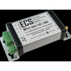 MTC-2AI-151.300 : MTC Dual Analog Input Transmitter. VHF. 151.300MHz. 100mW. 0-20mA