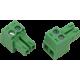 CON-P2652-P2 : Dinkle Mini Screw Terminal Plug, 2 way