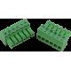 CON-P2656-P6 : Dinkle Mini Screw Terminal Plug, 6 way