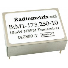 BiM1-173.225-10-HP : VHF Narrowband Transceiver 173.225MHz, 10kbps, 100mW, NZ
