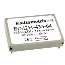 BiM2H-433-10 : UHF Wideband FM Radio Transceiver, 433.920MHz, 10kbps, 25mW