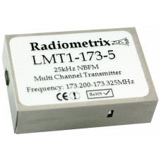 LMT1-173-5 : Low Cost VHF Narrowband FM Multi-Channel Radio Transmitter, 173MHz, 10mW