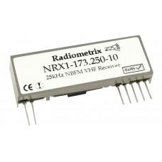 NRX1-173.250-10 : VHF Narrowband FM Receiver, 173.250MHz, 10kbps