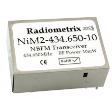 NiM2T-434.650-10 : UHF Narrow Band FM Transmitter, 434.650MHz, 10kbps, 10mW