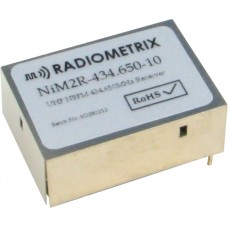 NiM2R-434.650-10 : UHF Narrow Band FM Receiver, 434.650MHz, 10kbps