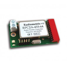 RPC2A-433-64 : UHF Radio Packet Controller. 433.920MHz. 64kbps. 10mW