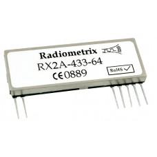 RX2A-434-64 : UHF 434MHz FM Receiver, 434.420MHz, 64kbps
