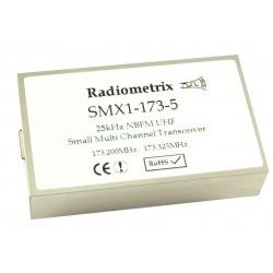 SMX1-151-5-100mW : VHF Narrow Band FM Multi channel Transceiver, 151MHz, 100mW