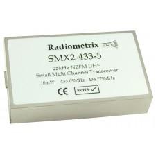 SMX2-433-5-25mW : UHF Narrow Band FM Multi channel Transceiver, 433MHz, 25mW