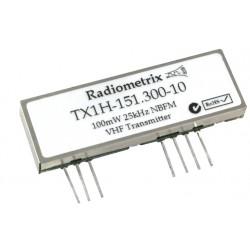 TX1H-151.300-10 : VHF Narrowband Transmitter 151.300MHz, 10kbps, 100mW