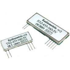 RX2-433-40-3V : UHF 433MHz FM Receiver, 433.920MHz, 40kbps, 3V. SAW