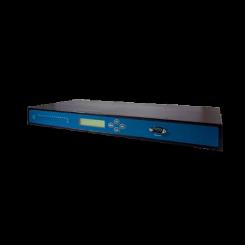 SE5908-DC : 8-Port Industrial Secure Rack-mounted Serial Device Server