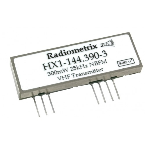 HX1-145.175-3 : VHF Narrowband Transmitter High Power, APRS, 145.175MHz, 300mW