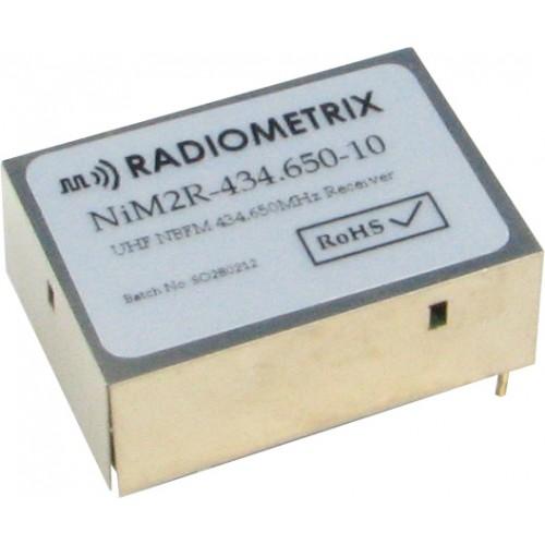NiM2R-434.650-10 : UHF Narrow Band FM Receiver, 434.650MHz, 10kbps