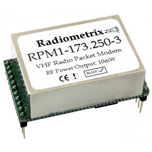 RPM1-151.300-3 : VHF OEM Radio Packet Modem. 151.300MHz, 100mW