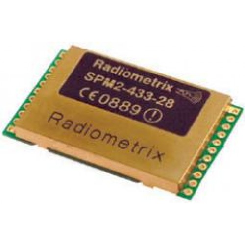SPM2-433-28 : UHF OEM SpacePort Packet Modem. 433.920MHz, 10mW