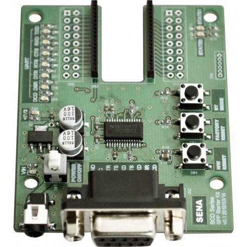 BCD110B-SK-SPP-WW : Bluetooth Embedded OEM DIP. Evaluation Starter Kit
