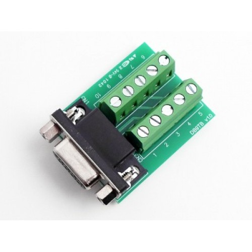 DB9FTB-G01 : DB9 to Terminal Block Adapter for SD1100 Adapters